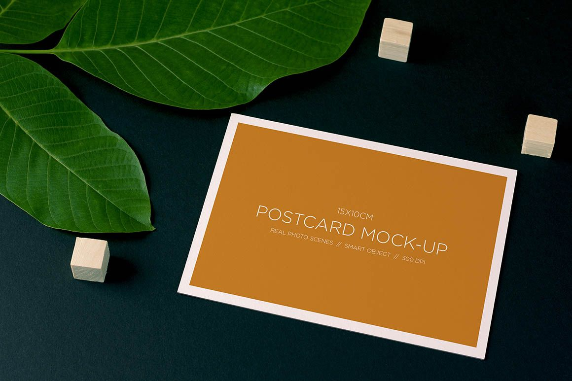Nature Style Postcard Free Mockup Dealjumbo Com Discounted Design Bundles With Extended License Postcard Mockup Free Postcards Free Mockup