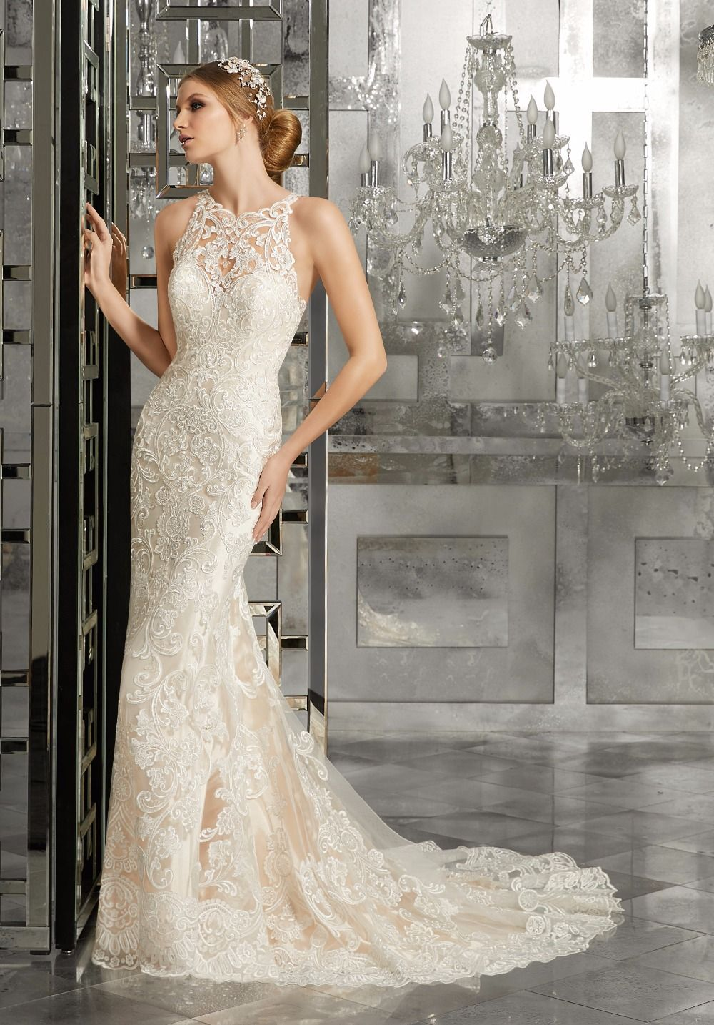 Click to buy ucuc wejanedress champagne wedding dress cheap strapless