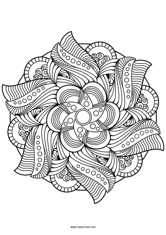 Mandala Lotus Mandala Design Mandala Coloring
