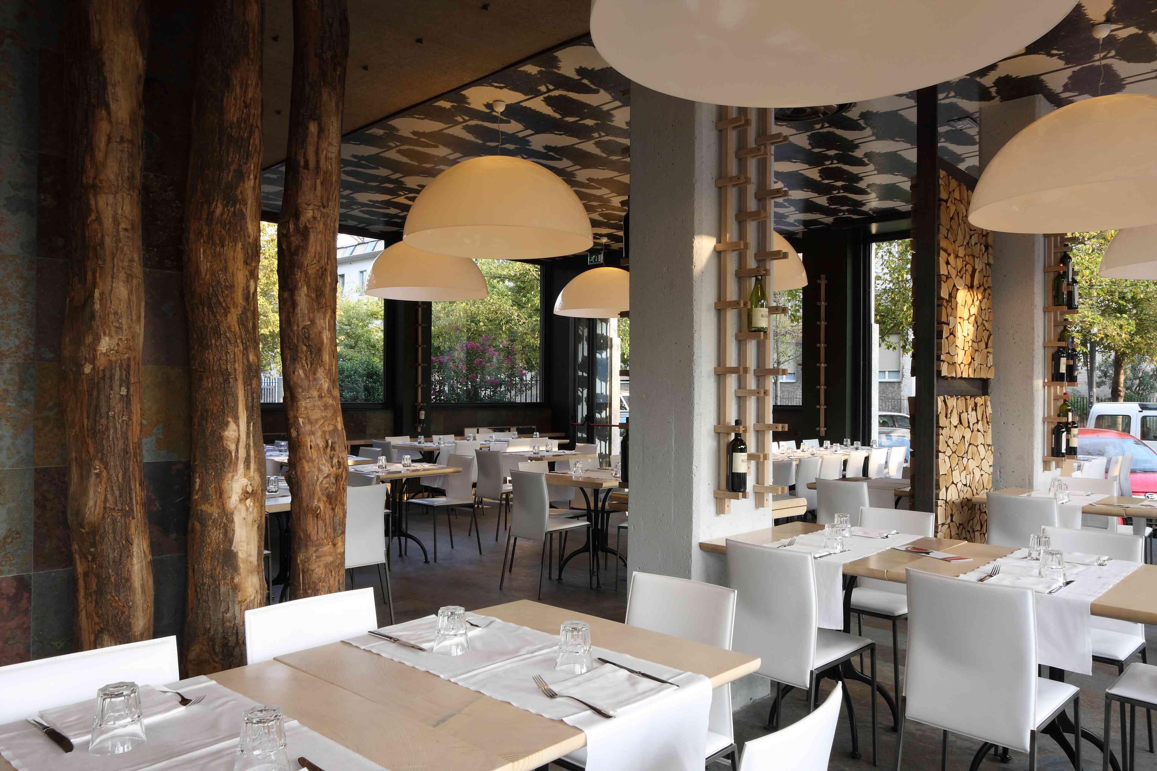 Bel ristorantino Bar interior design, Modern restaurant