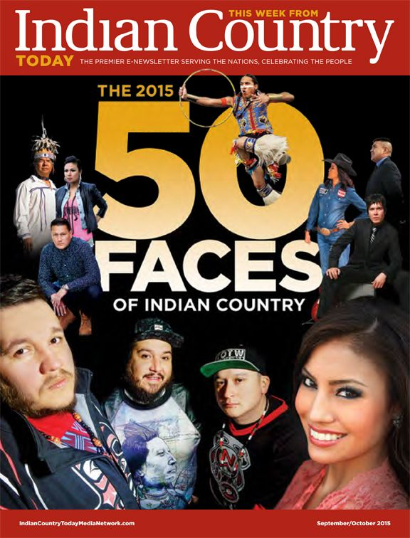 Indian Country Today Premieres '50 Faces of Indian Country