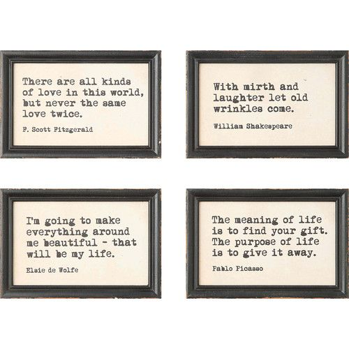 Found It At Joss Main Sayings Framed Print Frame Wall Decor Frames On Wall Framed Quotes
