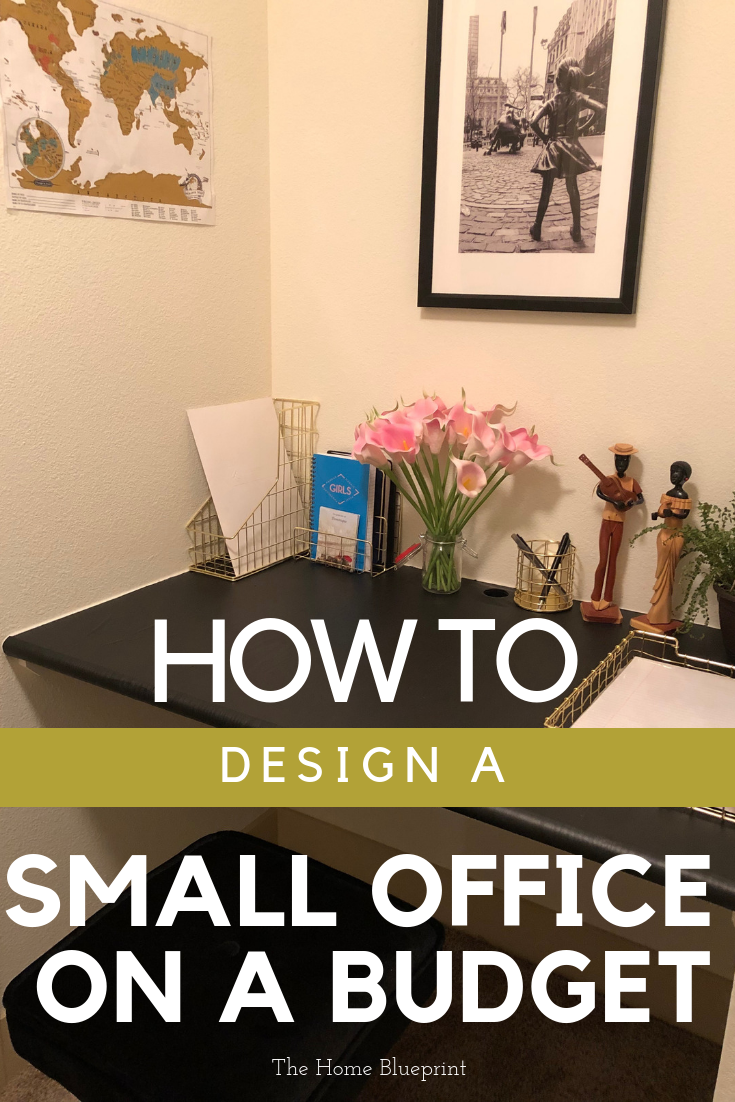 Home Office Design On A Budget The Home Blueprint Small Office