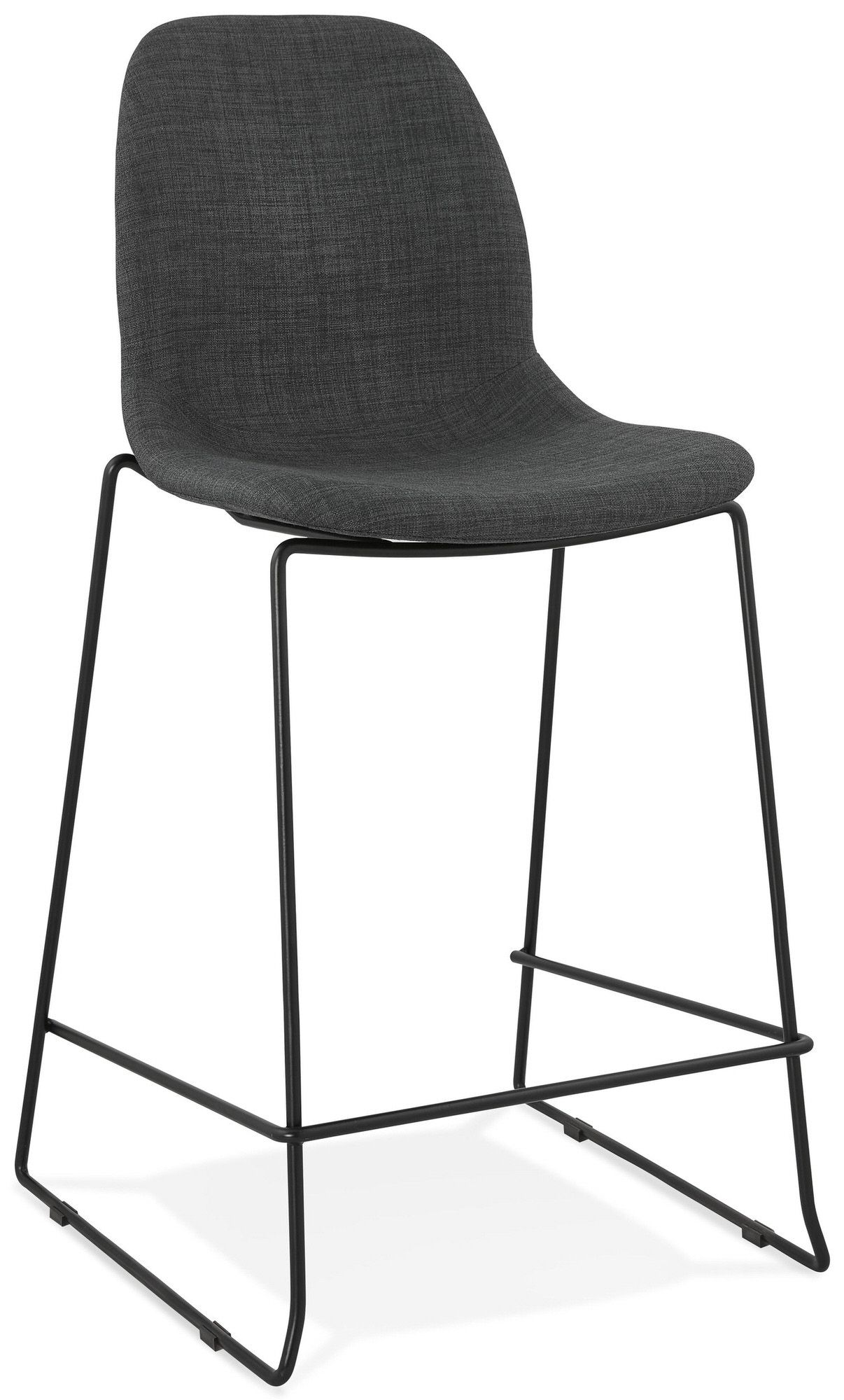 Tabouret De Bar Design Cooper Mini Kokoon Design Gris En 2020 Tabouret De Bar Design Chaise Bar Et Tabouret