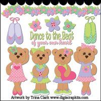 Tiny Dancer 2 Clip Art