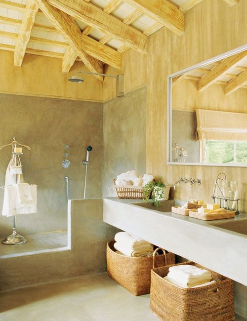 Rustic Chic Bathroom Decor examples of rustic sinks | rustic chic bathroom designs | rustic