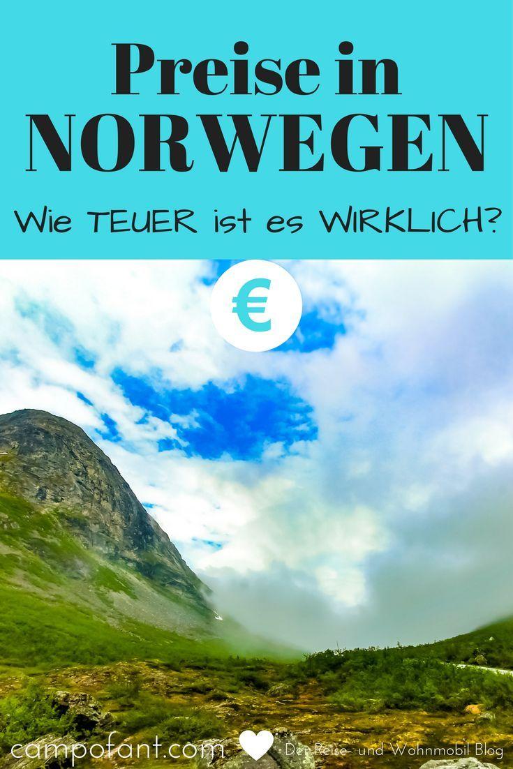 Preise In Norwegen So Teuer Ist Es Wirklich Campofant Norwegen Norwegen Reisen Norwegen Rundreise