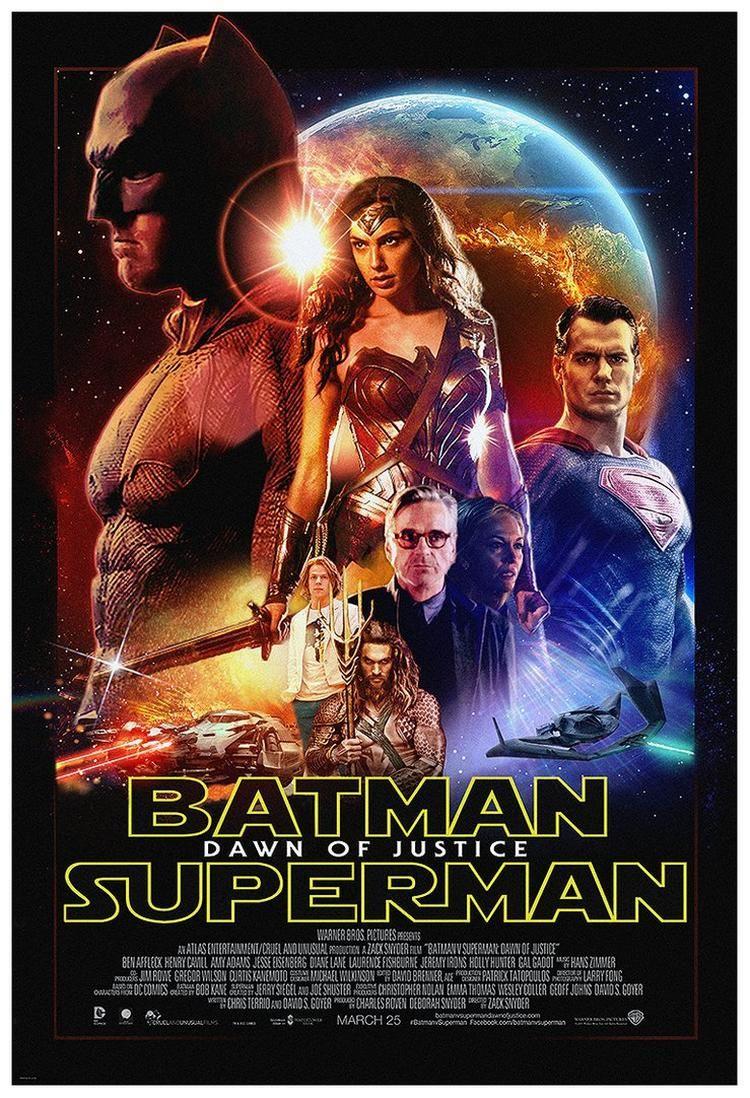 Batman vs Superman - Fã cria fantástico poster inspirado em Star Wars! - Legião dos Heróis