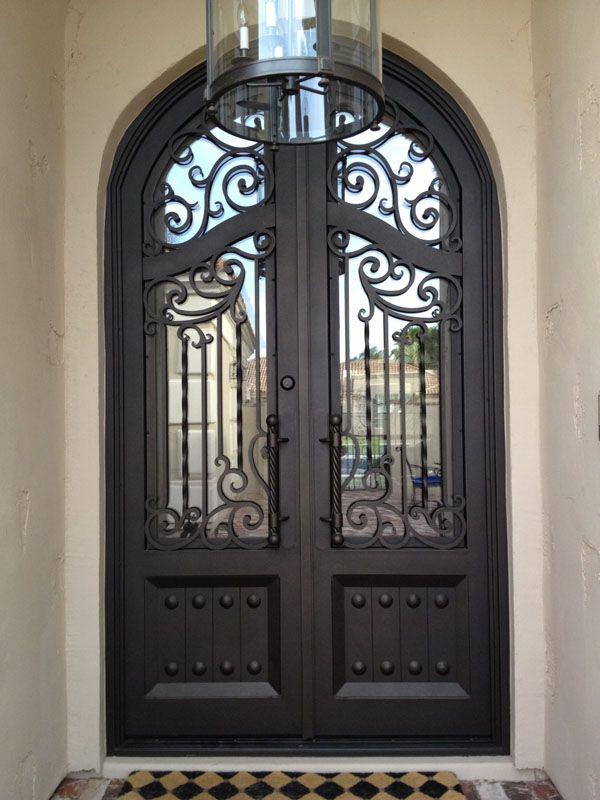 Colletti Design Iron Entry Door Scottsdale Arizona Usa Iron