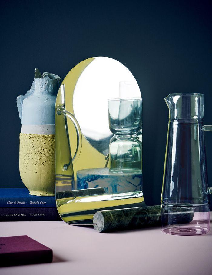 4 ambiances autour d 39 un miroir interiors and house. Black Bedroom Furniture Sets. Home Design Ideas