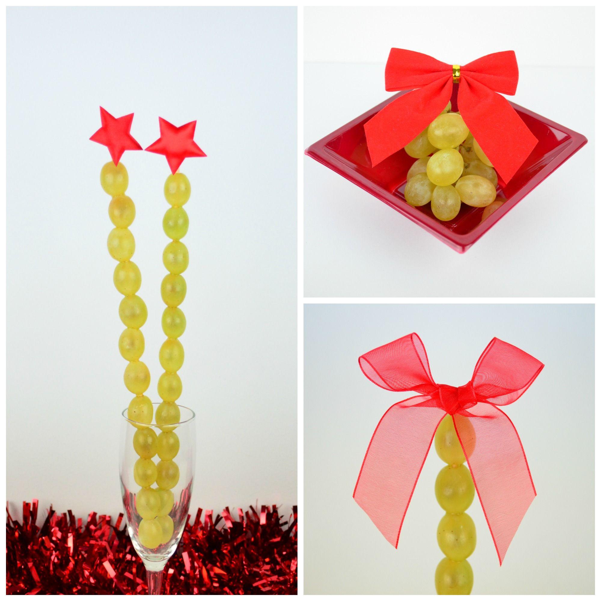 Cómo presentar las uvas en Nochevieja #uvas #nochevieja #postre ...