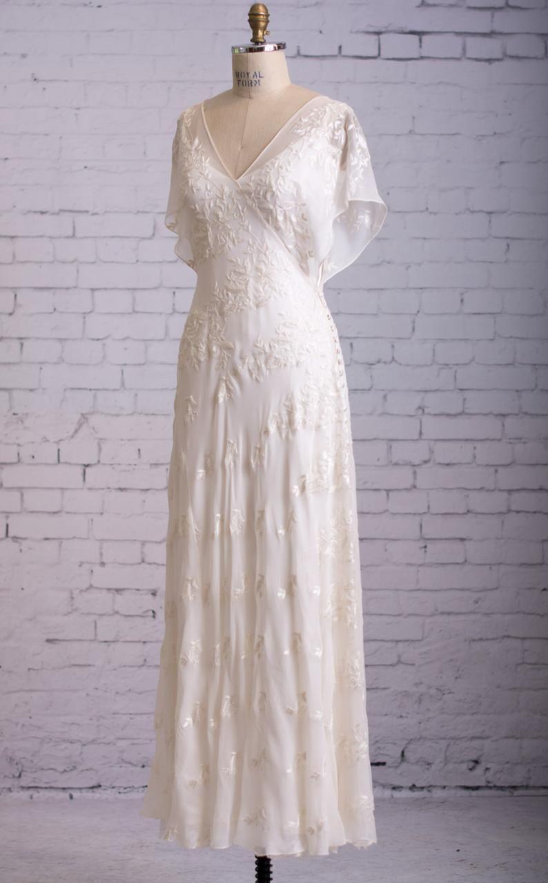 Casual Wedding Dress Simple Wedding Dress Backyard Wedding Etsy Simple Wedding Dress Casual Casual Wedding Dress Backyard Wedding Dresses [ 1278 x 794 Pixel ]