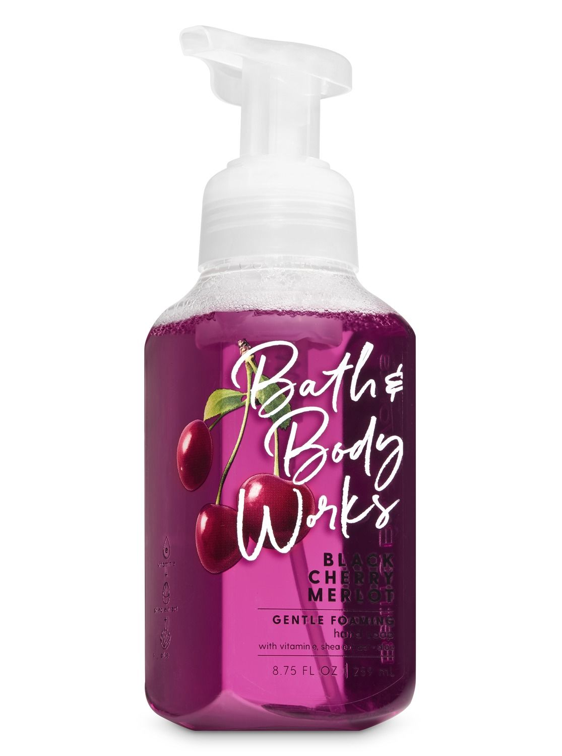 Black Cherry Merlot Gentle Foaming Hand Soap By Bath Body Works