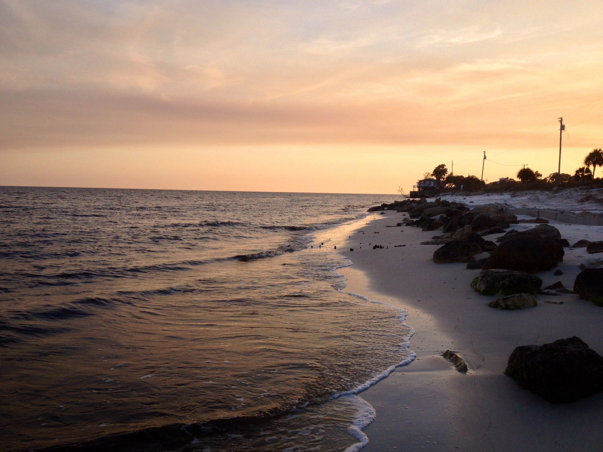 Florida S Forgotten Coast Alligator Point February Sunset 2017 Panacea Fl