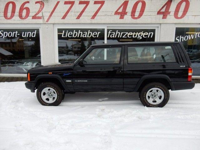 Jeep Cherokee 2 5 Sport Benzin Occasion Gebraucht Handschaltung