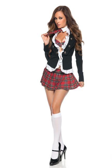sexy Kostüm des Lehrers