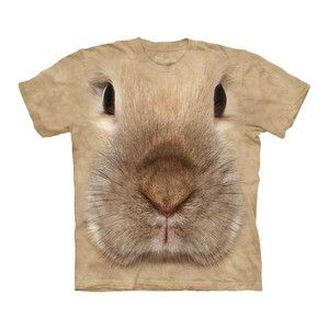 Bunny Face T-Shirt Adult now featured on Fab.