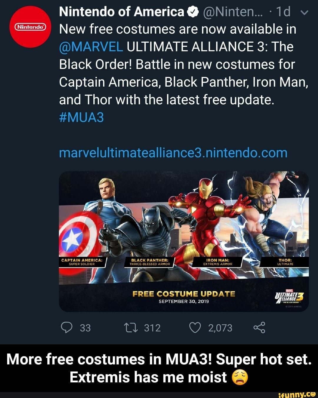 Nintendo Of Americaº Ninten 1d V New Free Costumes Are Now Available In Marvel Ultimate Alliance 3 The Black Order Battle In New Costumes For Captain A Marvel Ultimate Alliance Find great deals on ebay for captain marvel costume. marvel ultimate alliance