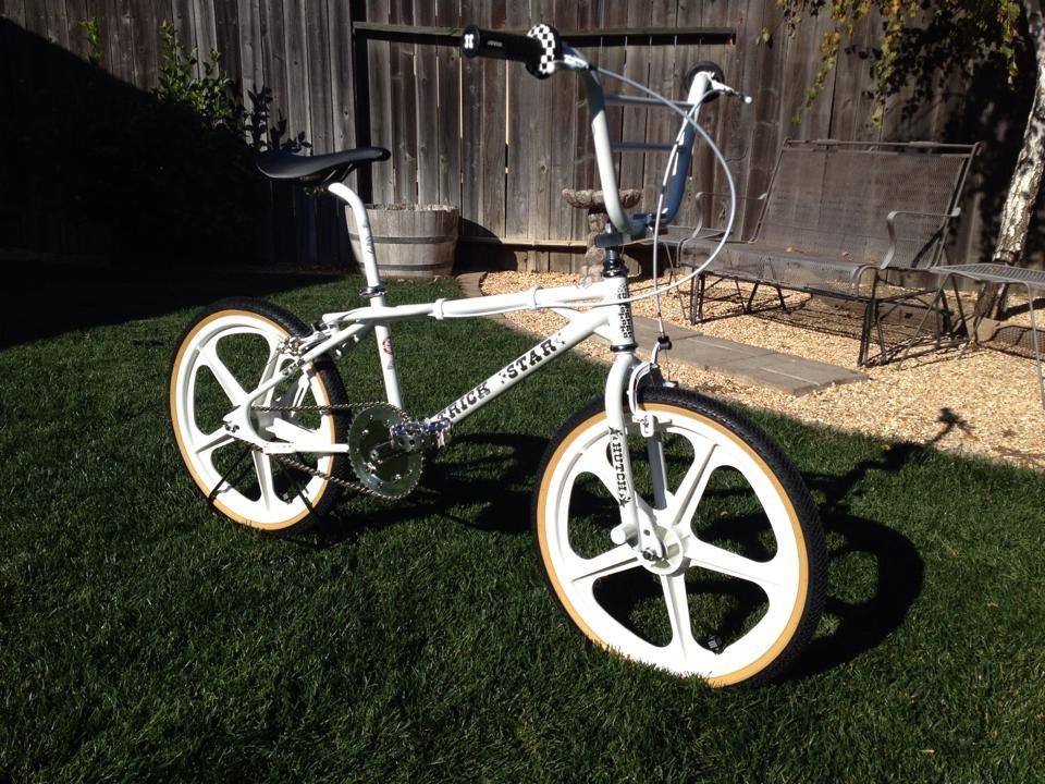 White Hutch Trick Star Dream Based Inc Bmx Freestyle Bmx Bikes