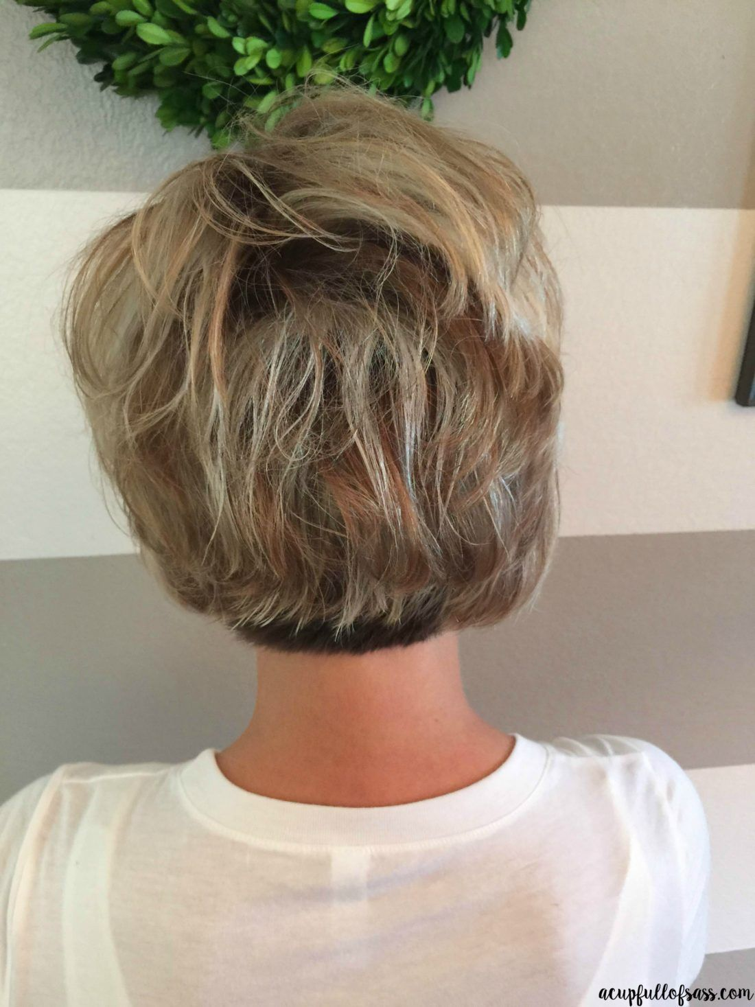Easy short hairstyle with fall colors hair pinterest short