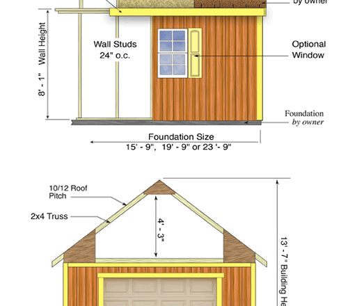 Glenwood 12 X 20 Wood Shed Kit Bettersheds Com Wood Shed Kits Shed Shed Building Plans
