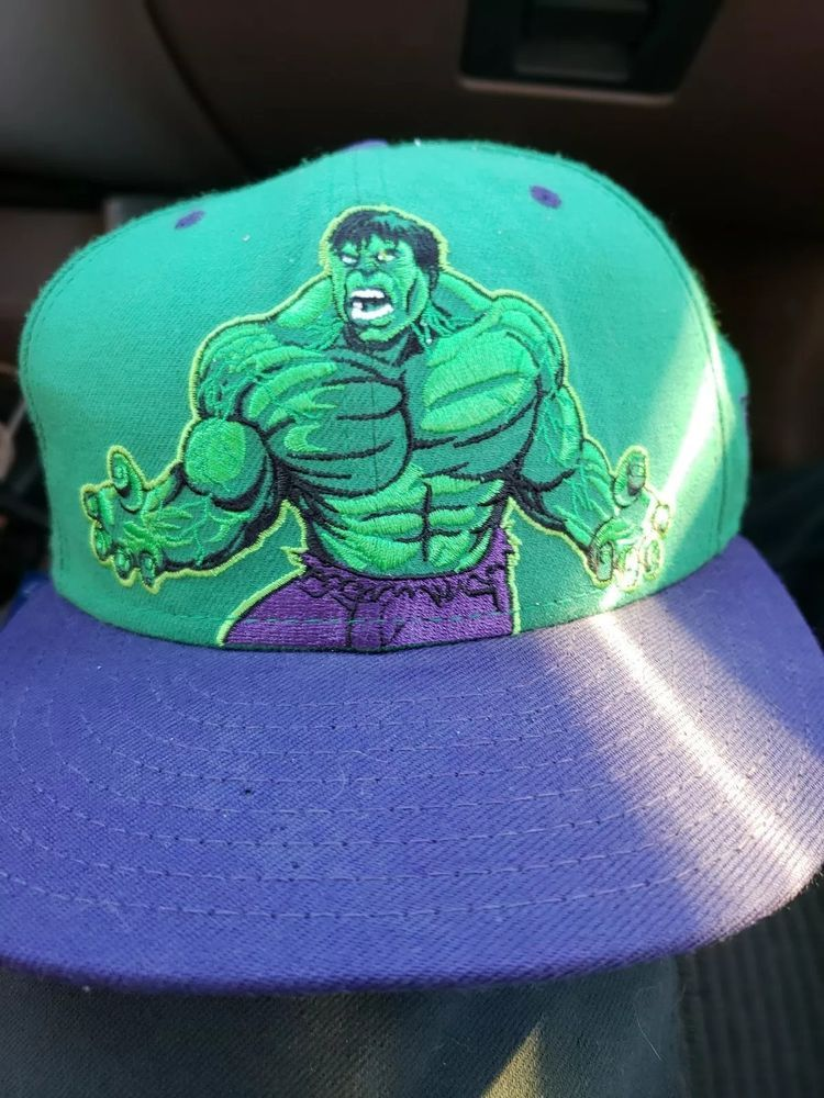 468f8bb60 Incredible Hulk Fitted Hat New Era 59FIFTY #fashion #clothing #shoes ...