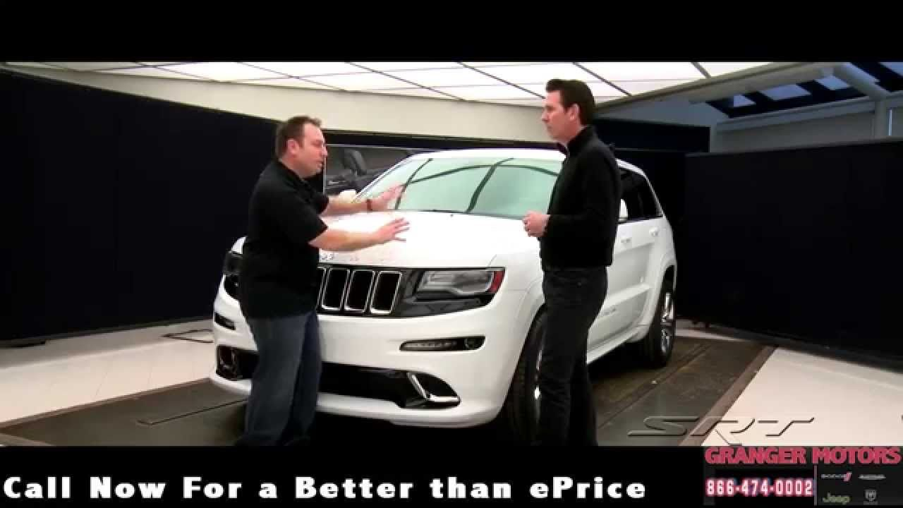 20142015 Jeep Grand Cherokee SRT Review GrangerMotors