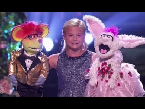 Darci Lynne Brings Together Her Puppet Friends For A Grand Finale Act Video S