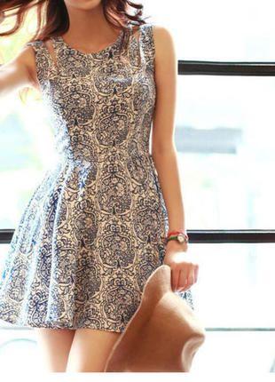 Armelloses Sommer Kleid Kurz Blau Weiss Kleider Kleidchen Alltagskleider
