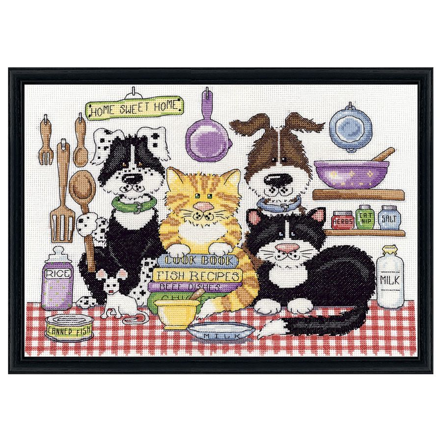 Kittens and Puppies - Cross Stitch, Needlepoint, Embroidery Kits – Tools and Supplies