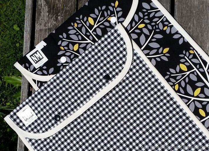 6cf39b150b6b Book Bag - Waterproof Lining -easy sewing tutorial