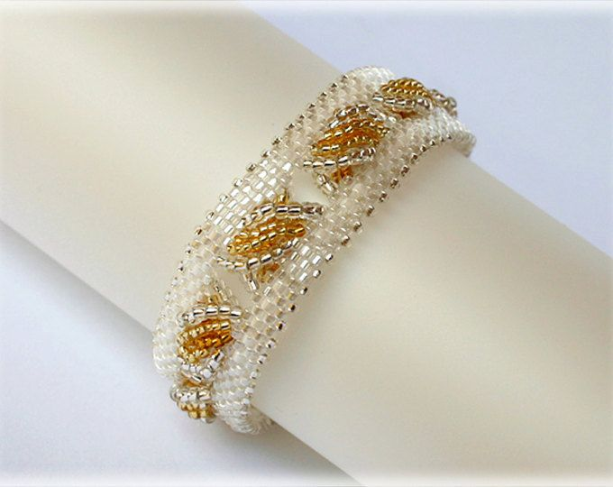 Zipper bracelet beading TUTORIAL