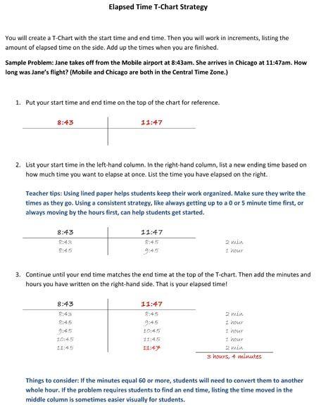 Number Names Worksheets » Time Elapsed Worksheet - Free Printable ...