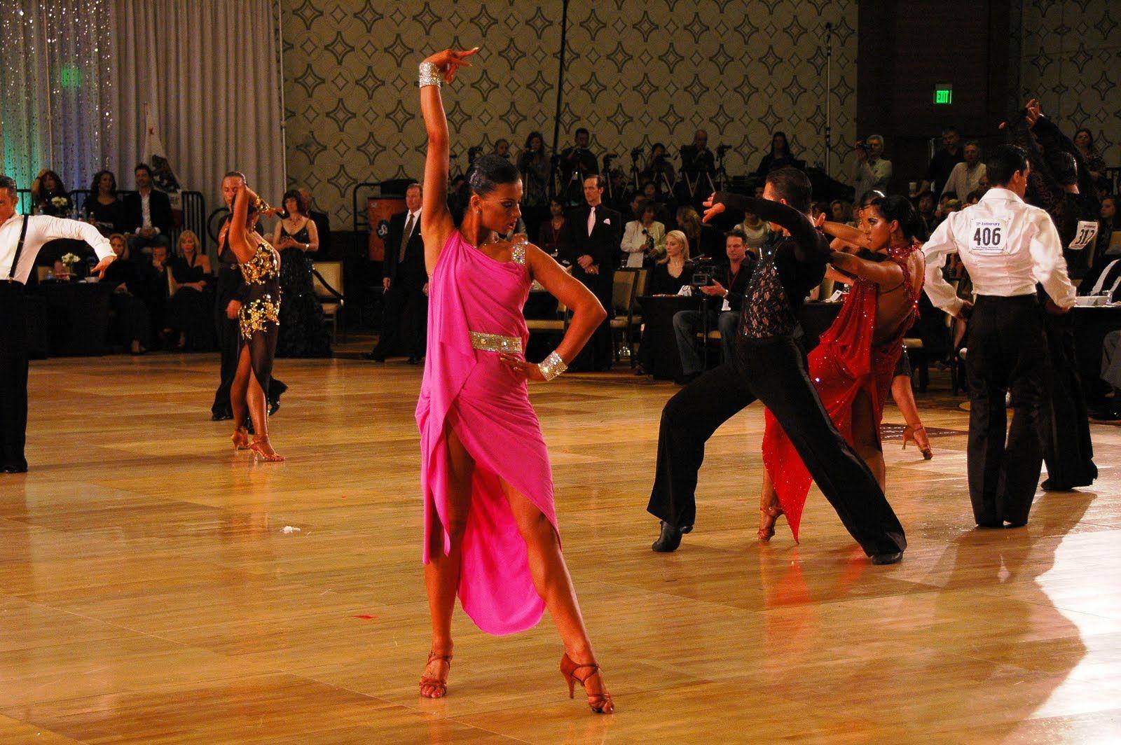 Teen ballroom dance video