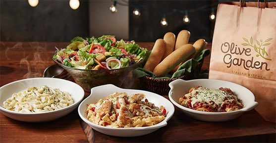 Free Entree For Military Members Tomorrow At Olive Garden Olive Gardens Family Meals To Go Olive Garden Lunch