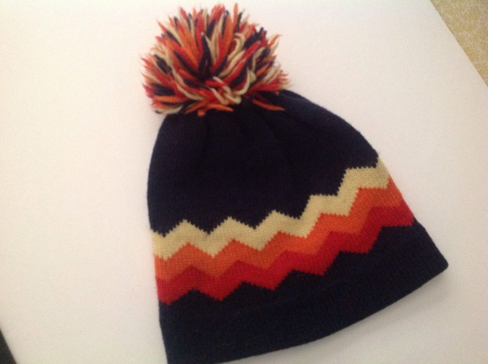 Winter Ski Hat Snowboarding Cross Country One Size Fits All Blue Red Yellow #Ski
