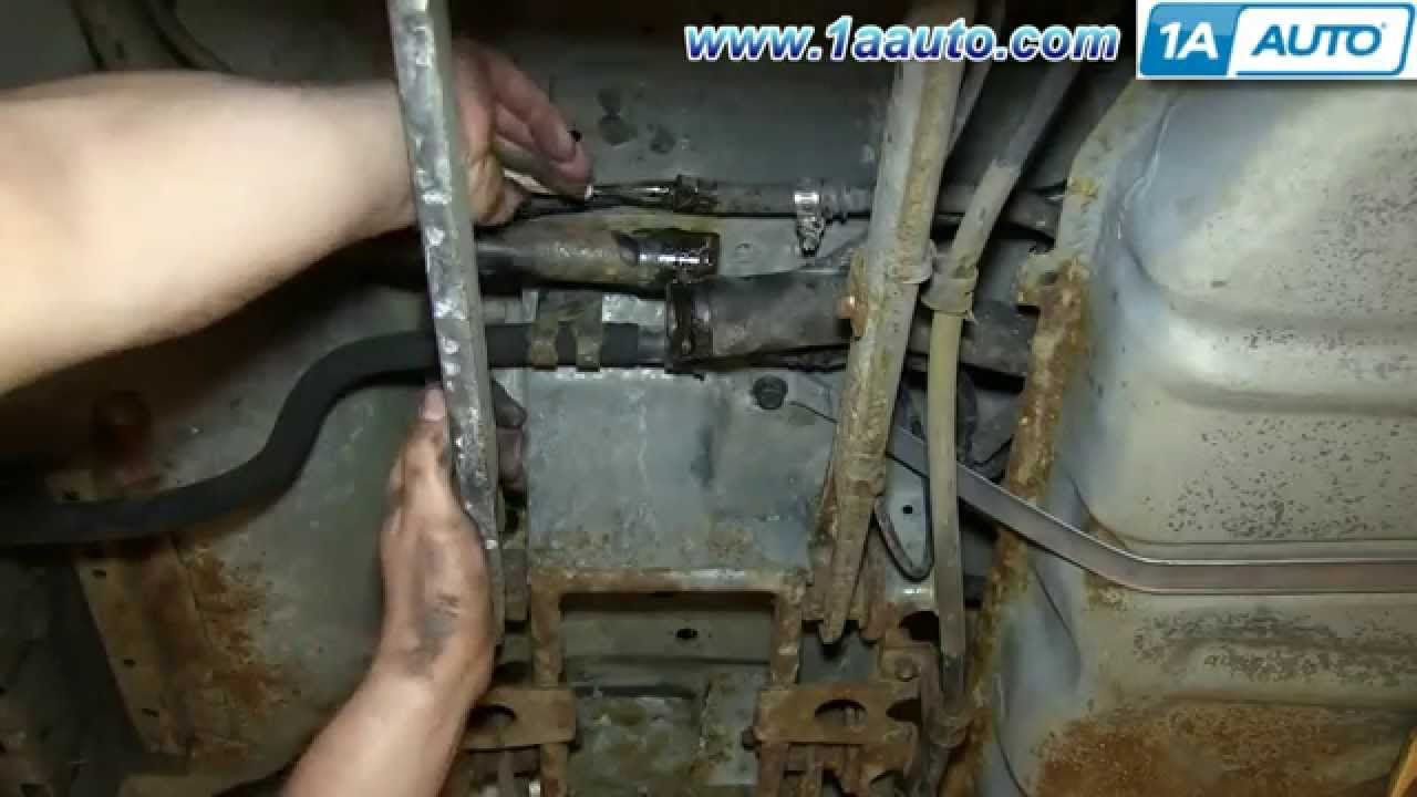 How To Install Replace Fuel Pump 1996 06 Ford Taurus Mercury Sable Mercury Sable Taurus Fuel