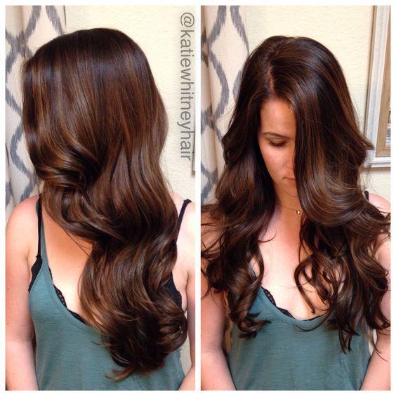 Cikolata Karamel Sac Rengi Ve Detaylari Frisuren Haarfarben