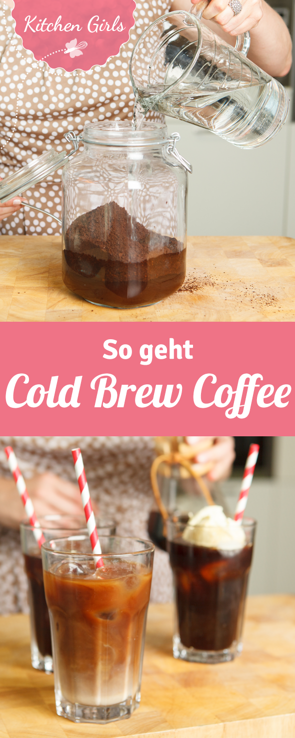 Cold Brew Coffee selber machen #healthystarbucksdrinks