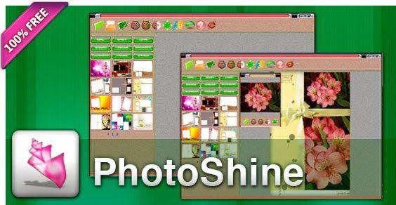 gratuit logiciel photoshine