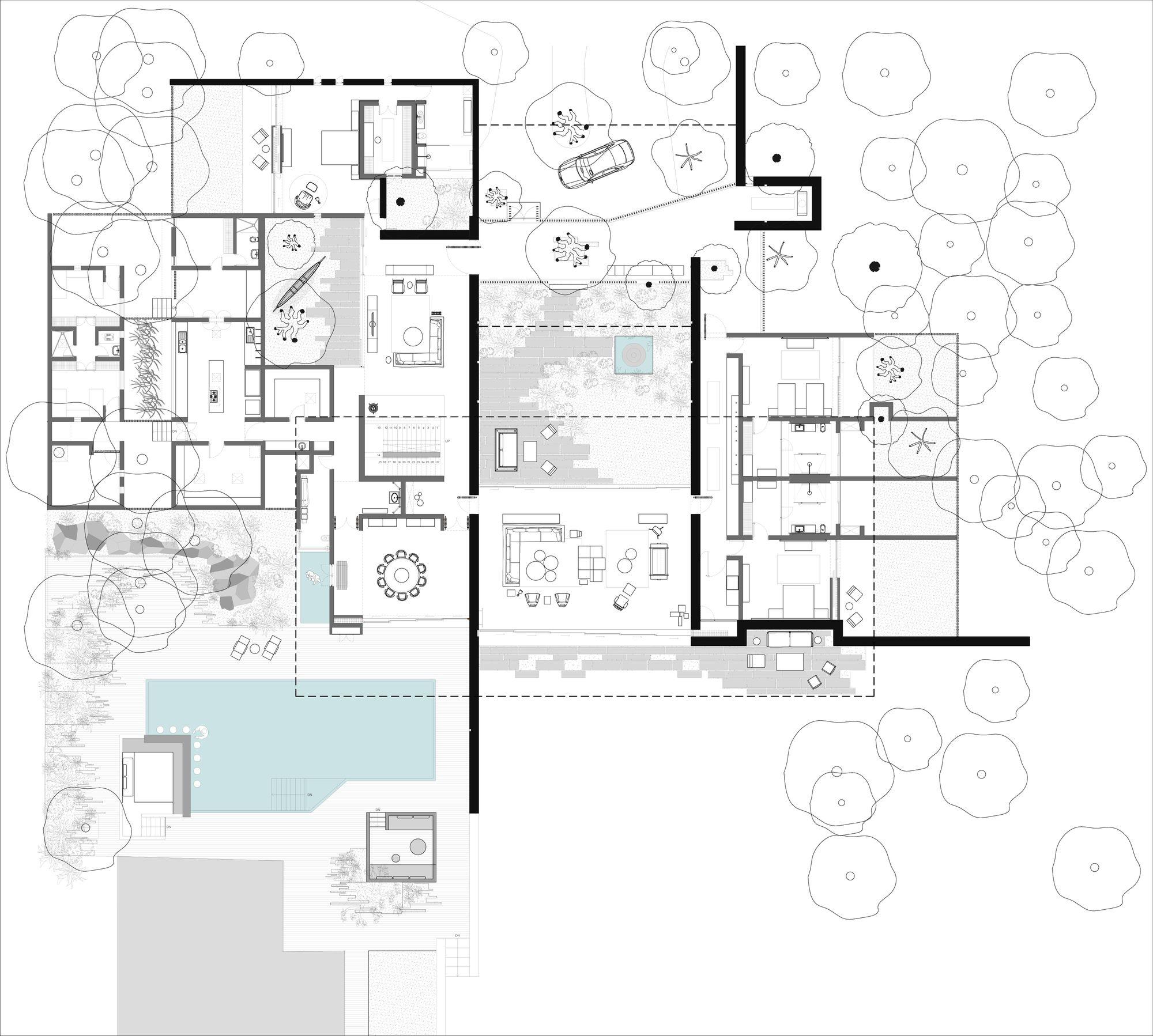 Gallery Of Diya Spasm Design Architects 26 Architect Design Architect House Plans