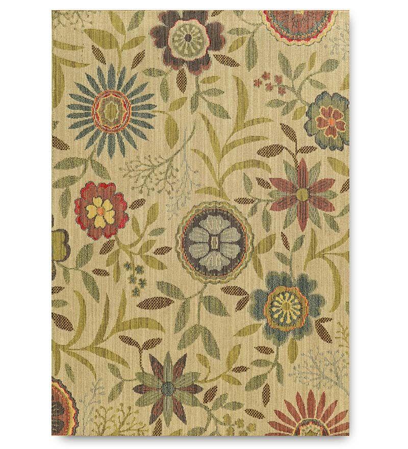 Tommy Bahama® Indoor/Outdoor Polypropylene Floral Rug, 9