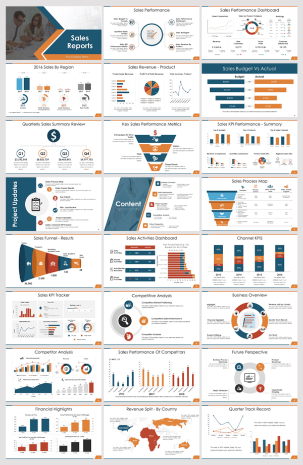 Christmas Sales Report 2020 65 Must Have Sales Reports PowerPoint Presentation Slides