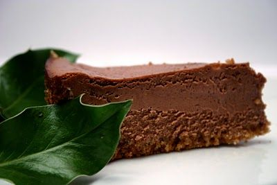 Low & Lush Chocolate Espresso Cheesecake