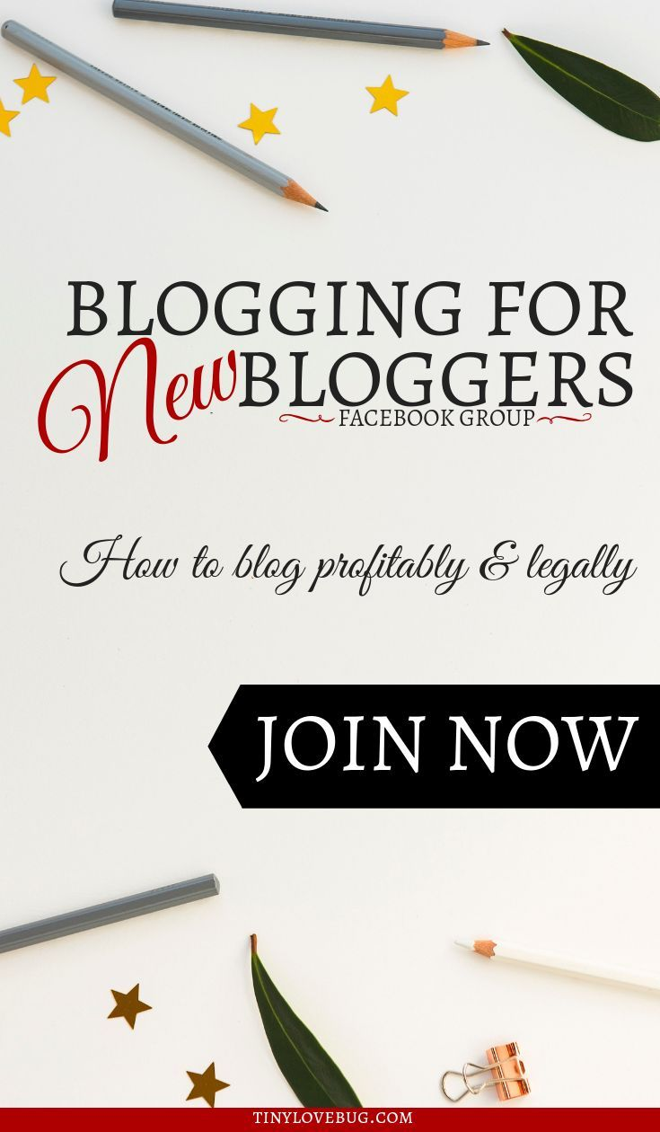 Blogging for New Bloggers Facebook Group | The Big Blog