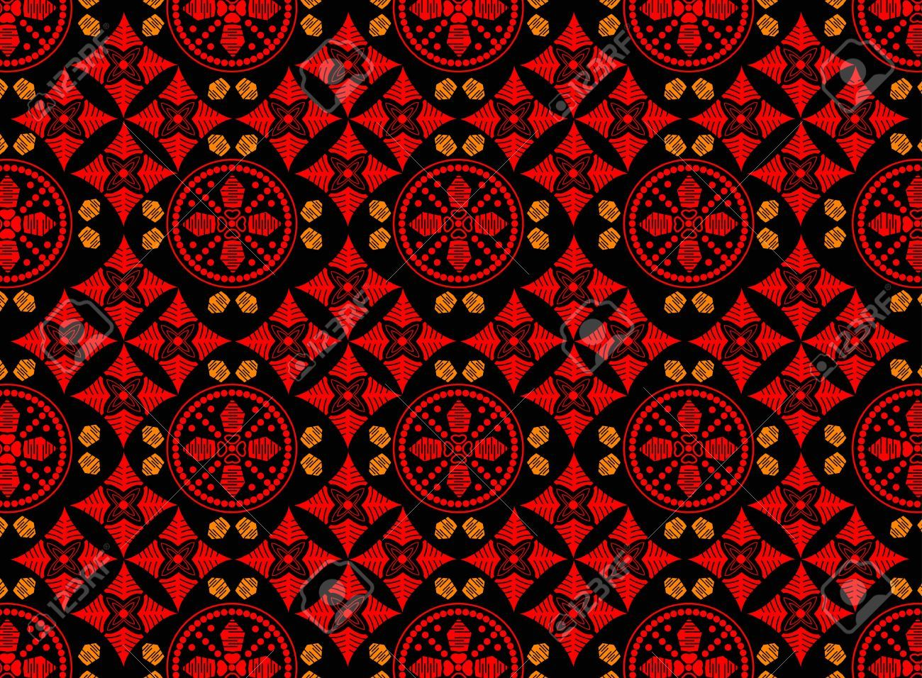 Indonesian Batik Art Royalty Free Cliparts efee9d6542