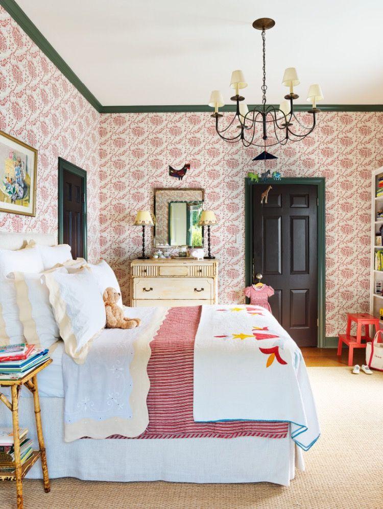 Catherine Olasky House Beautiful Dec 2016 Girl Bedroom Decor Bedroom Design Home