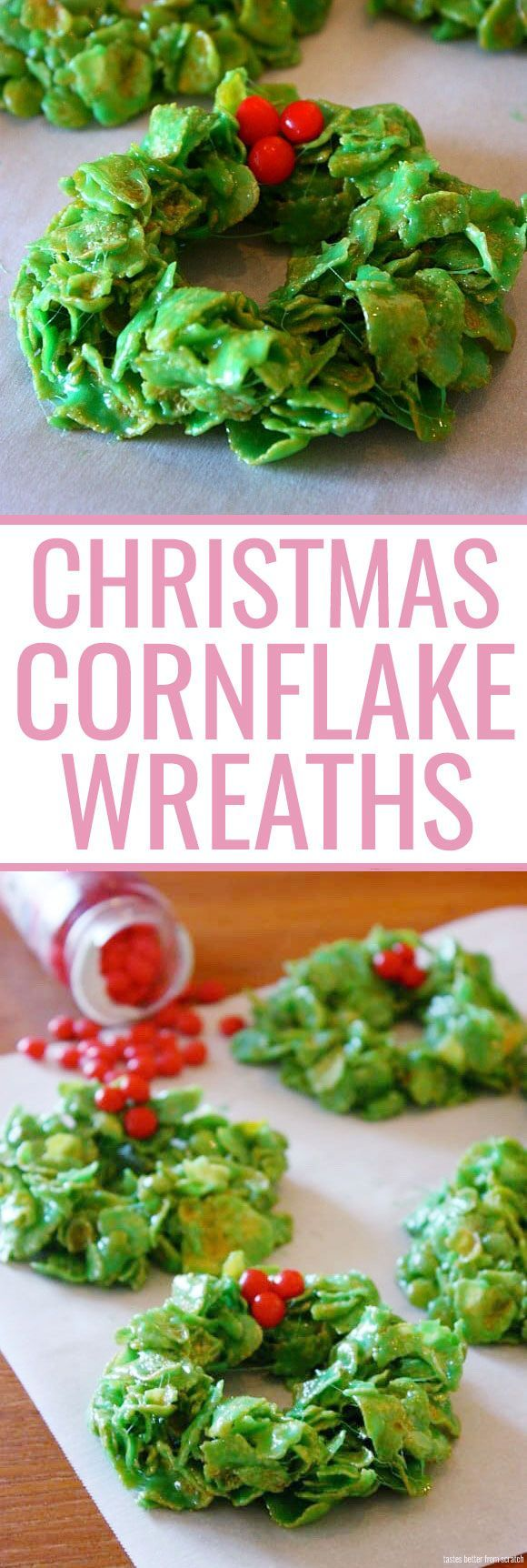 Christmas Cornflake Wreaths -