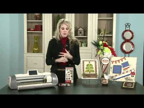 """Scandinavian Christmas Cards"" Cricut Cartridge Highlight!"