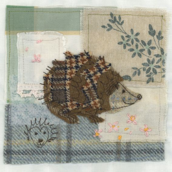 UE124 Hedgehog - Originals from Abigail Mill Embroidery